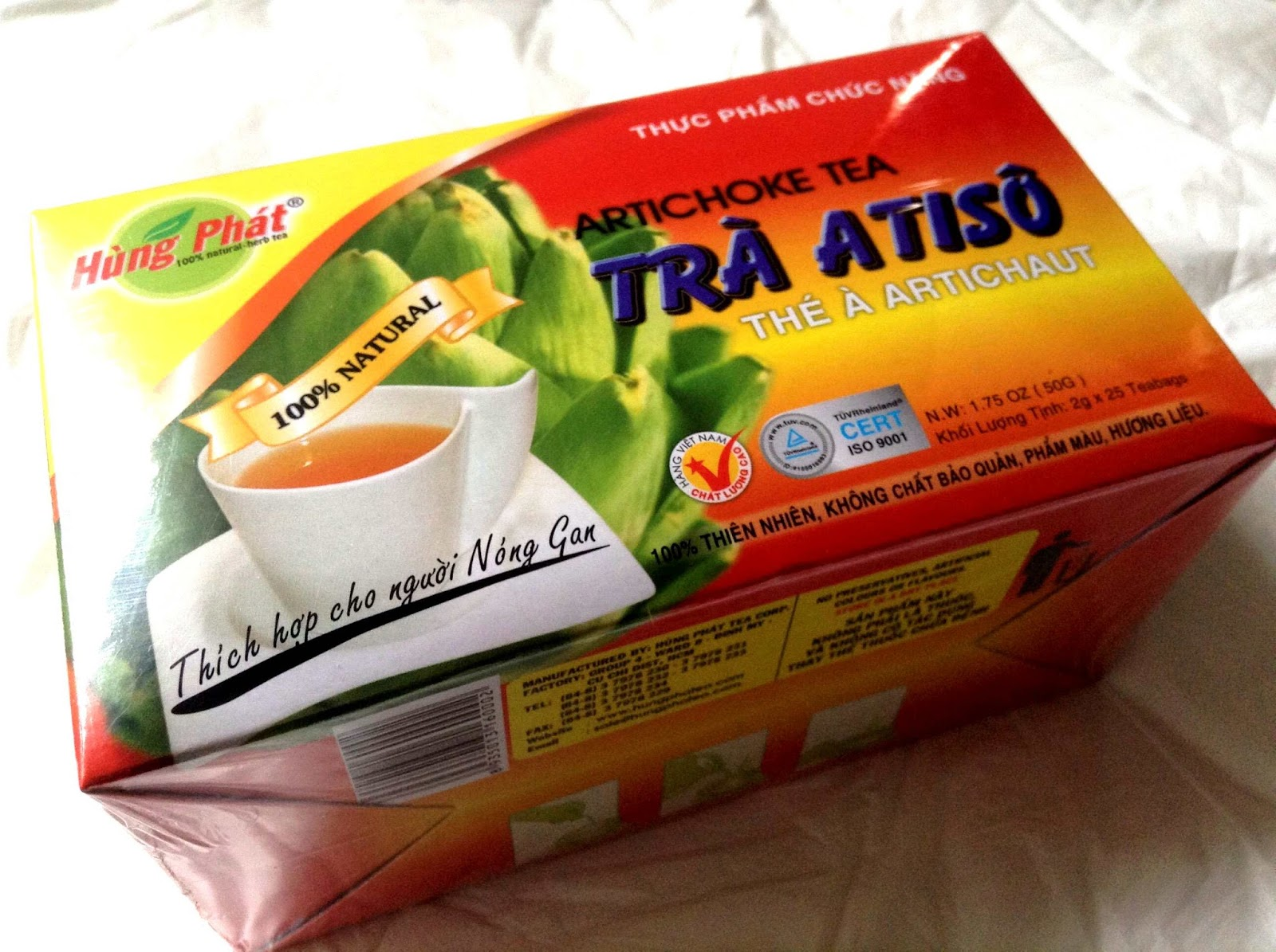 Uống trà atiso buổi tối có tốt không? Cách uống trà atiso đúng cách